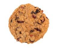 Печенье изюминки овсяной каши клюквы Стоковое Изображение RF