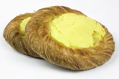 Печенье испечет с пудингом Стоковое Изображение