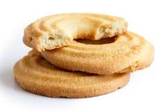 Печенье кольца масла Стоковое Изображение