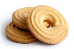 Печенье кольца масла Стоковое Фото