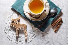 Печенье лося пряника Стоковое Изображение RF