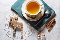 Печенье лося пряника Стоковая Фотография