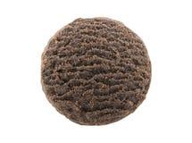Печенье масла шоколада изолированное на белой предпосылке Стоковые Фото