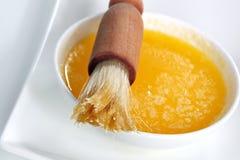 печенье масла щетки стоковое изображение