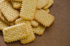 Печенье масла с сезамом Стоковые Фото