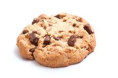 Печенье на белой предпосылке Стоковые Изображения RF