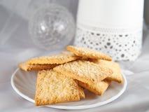 Печенье на плите с шариком Стоковые Фото