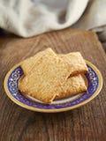 Печенье на плите Стоковые Изображения RF