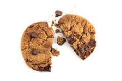 Печенье обломока шоколада Стоковое Фото