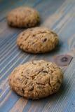 Печенье овсяной каши Стоковые Фото