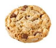 Печенье ломтя шоколада кудрявое Стоковое Фото