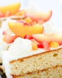 Печенье персика ананаса стоковое фото