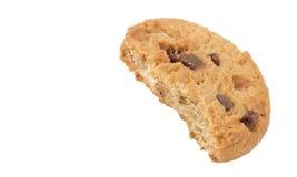 Печенье печенья с укусом вне стоковые фотографии rf