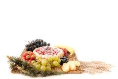 печенье плодоовощ стоковые фотографии rf