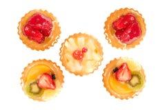 печенье плодоовощ стоковые изображения