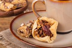 Печенье помадки бахлавы Стоковые Фотографии RF