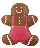 Печенье пряника в форме человека Стоковое Изображение RF