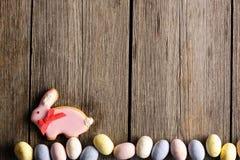 Печенье пряника пасхи домодельное Стоковая Фотография RF