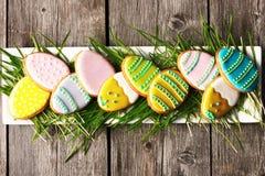 Печенье пряника пасхи домодельное Стоковое Фото