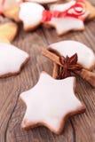 Печенье рождества Стоковые Изображения RF