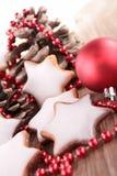Печенье рождества Стоковое фото RF