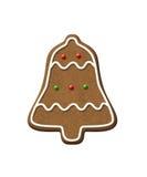 Печенье рождества колокола пряника Стоковая Фотография RF