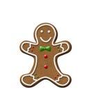 Печенье рождества человека пряника Стоковое Изображение RF