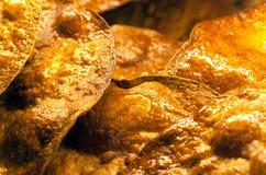 Печенье своиственн каталонцам коки крупного плана макроса Стоковая Фотография RF