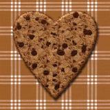 Печенье сердца меда Стоковое Изображение