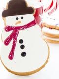Печенье снеговика Стоковое фото RF