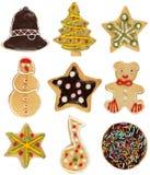 печенье собрания рождества Стоковое Изображение RF