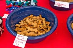 Печенье сосиски собаки Стоковое Изображение