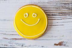 Печенье стороны Smiley Стоковое Изображение
