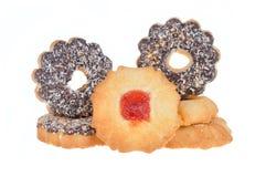 Печенье с обломоками шоколада и кокоса Стоковое Изображение RF