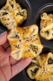 Печенье слойки плюшки Стоковые Изображения RF
