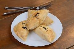 Печенье слойки с грибами Стоковые Изображения RF
