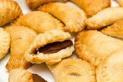 Печенье слойки шоколада Стоковые Изображения