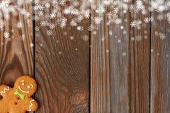 Печенье человека gingerbread рождества домодельное бесплатная иллюстрация