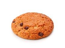 печенье шоколада обломока одиночное Стоковые Изображения RF