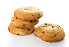 печенье шоколада обломока Стоковое Изображение