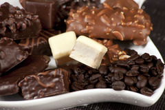 печенье шоколада обломока Стоковые Изображения RF