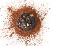 печенье шоколада обломока Стоковые Фото