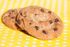 Печенье шоколада домодельное Стоковое Фото