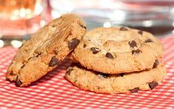 Печенье шоколада домодельное Стоковая Фотография