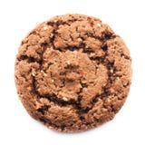 печенье шоколада близкое вверх Стоковая Фотография RF