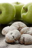 печенье яблока Стоковое Фото