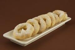 Печенье Choux с украшением Стоковое Фото