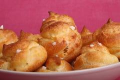 печенье choux Стоковые Изображения