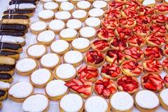 Печенье Choux. Стоковое Изображение