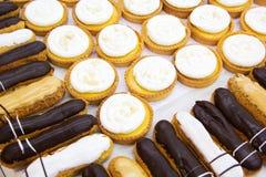 Печенье Choux. Стоковое фото RF